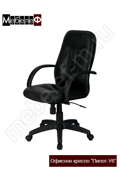"""Офисное кресло """"Пилот-У6"""" черное"""