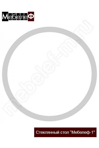 """Стеклянный стол """"Мебелеф-1"""" узор"""