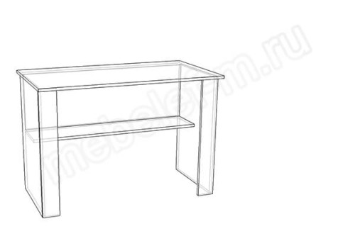 "Чертеж письменного стола ""Мебелеф-1"""