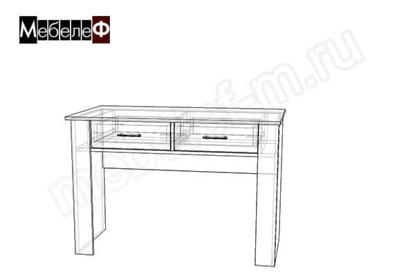 "Письменный стол ""Мебелеф-3"" чертеж"