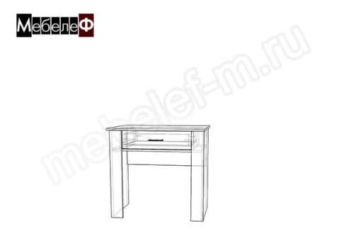 "Письменный стол ""Мебелеф-4"" чертеж"