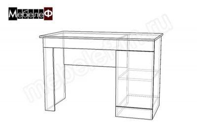 "Письменный стол ""Мебелеф-5"" чертеж"