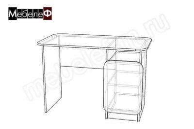"Письменный стол ""Мебелеф-6"" чертеж"