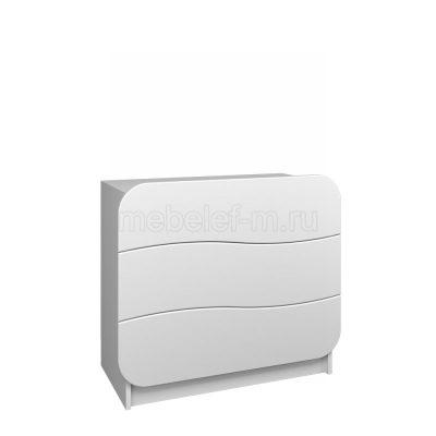 Белый комод Мебелеф 24