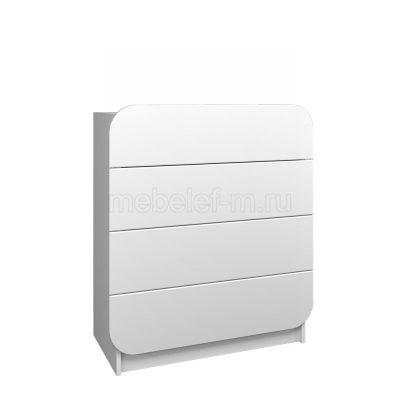 Белый комод Мебелеф 25