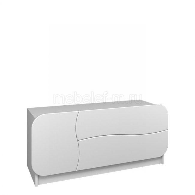 Белый комод Мебелеф 28