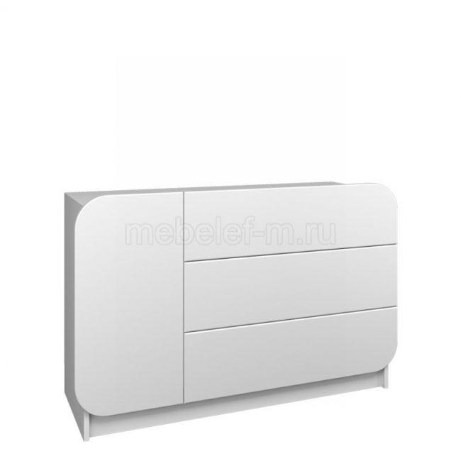 Белый комод Мебелеф 29