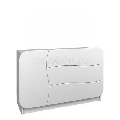 Белый комод Мебелеф 30