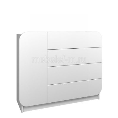 Белый комод Мебелеф 31