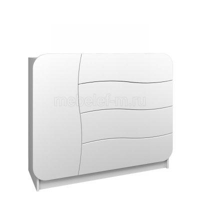 Белый комод Мебелеф 32