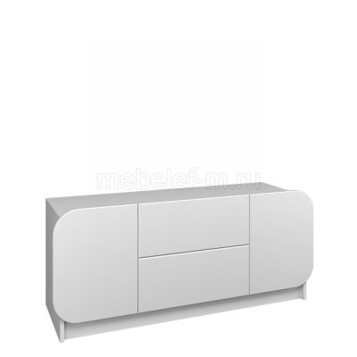 Белый комод Мебелеф 33