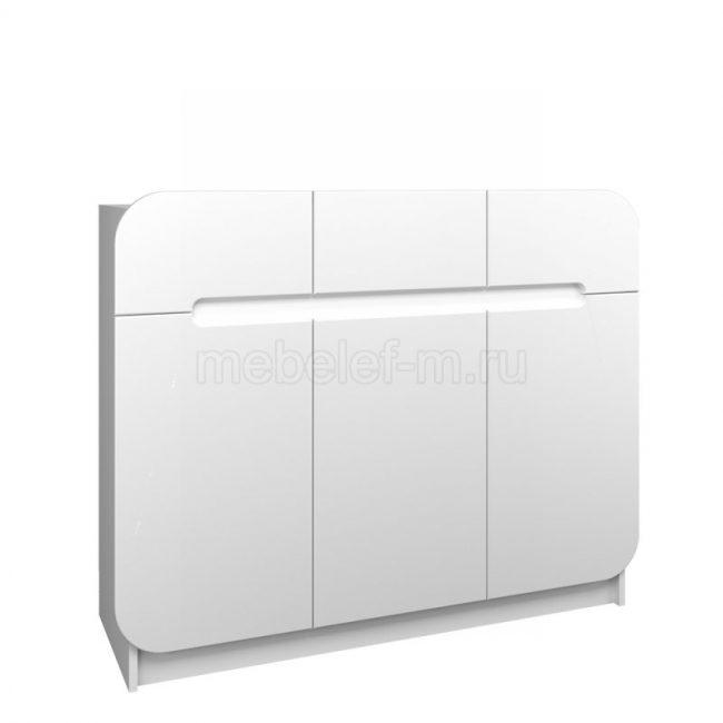 Белый комод Мебелеф 42