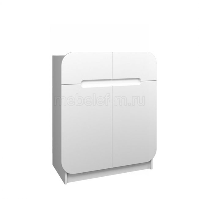 Белый комод Мебелеф 43