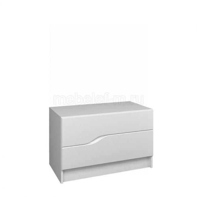 Белый комод Мебелеф 47