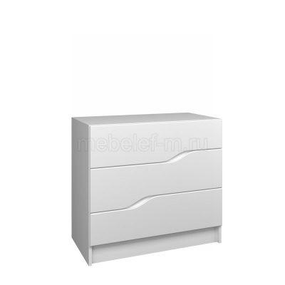 Белый комод Мебелеф 48
