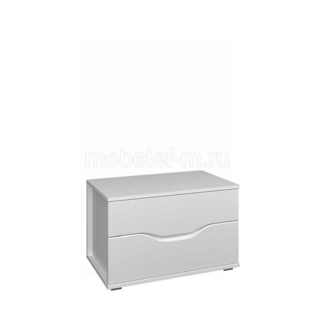 Белый комод Мебелеф 53