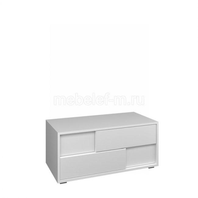 Белый комод Мебелеф 55