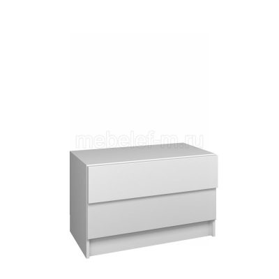 Белый комод Мебелеф 56