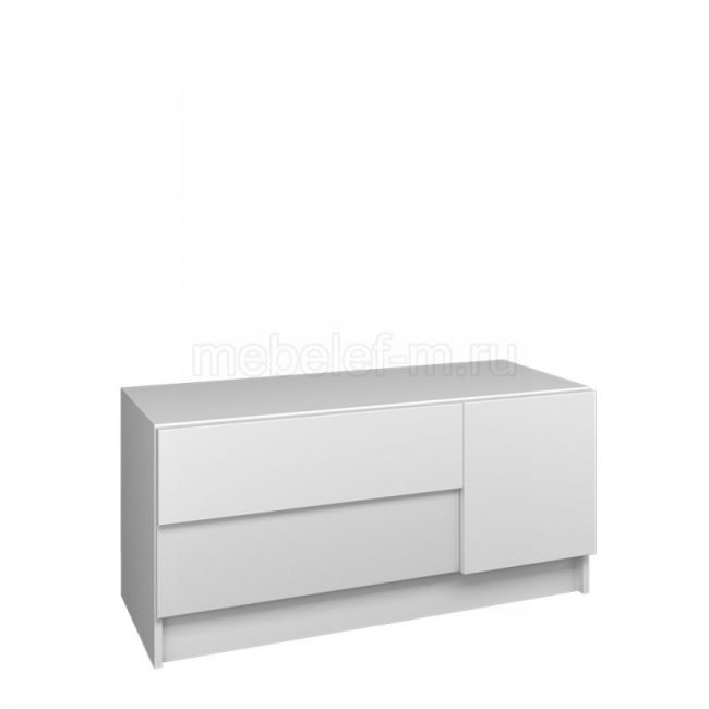 Белый комод Мебелеф 57
