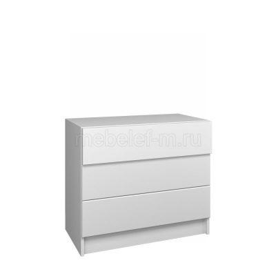 Белый комод Мебелеф 58