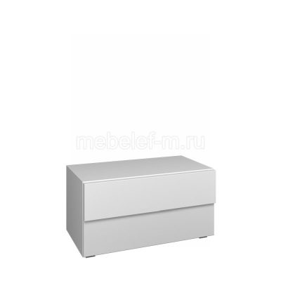 Белый комод Мебелеф 59