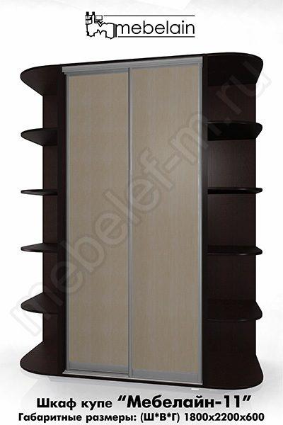 Шкаф-купе без зеркала Мебелайн-11