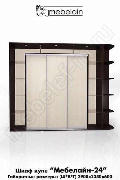 Шкаф-купе без зеркала Мебелайн-24