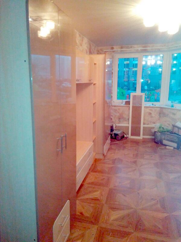 большая стенка в гостиную Мебелеф-9