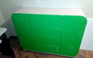 комод Мебелеф-38 с дверцами