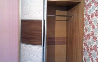радиусный шкаф-купе Мебелеф-15 наполнение