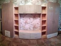 стенка в гостиную Мебелеф-9