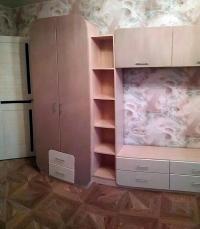 стенка в гостиную со шкафами Мебелеф-9