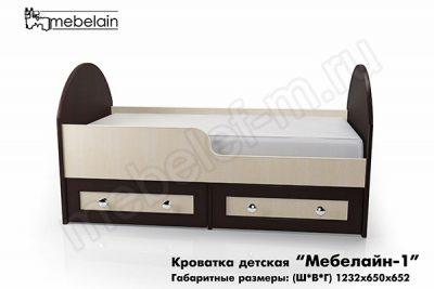 Детская кроватка Мебелайн-1