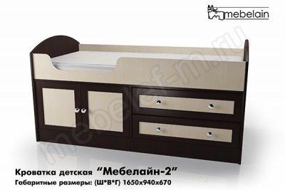 Детская кроватка Мебелайн-2