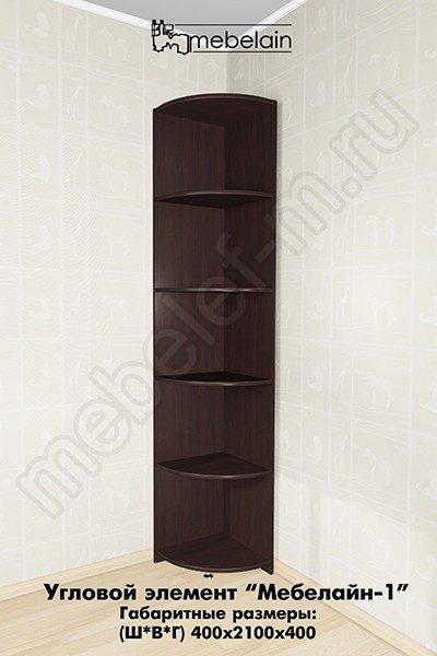 угловые полки для шкафа Мебелайн-1