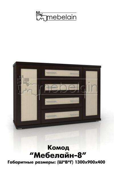Комод мебелайн 8 б