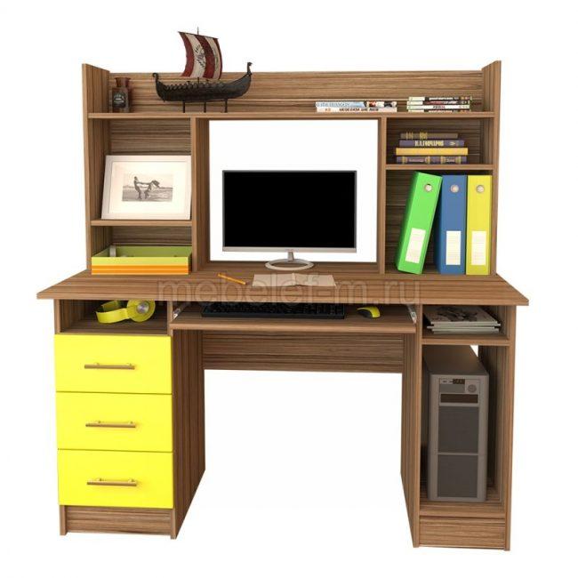 компьютерный стол Мебелеф 34