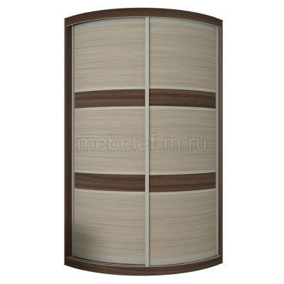 радиусный шкаф купе Мебелеф 1