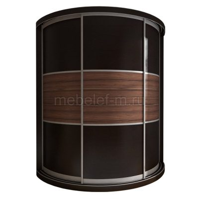 радиусный шкаф купе Мебелеф 11