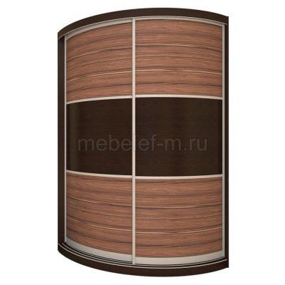 радиусный шкаф купе Мебелеф 14