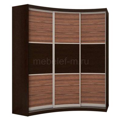 радиусный шкаф купе Мебелеф 18
