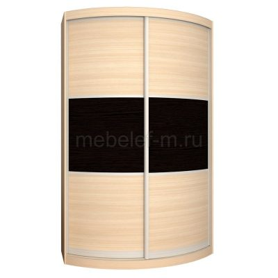 радиусный шкаф купе Мебелеф 3