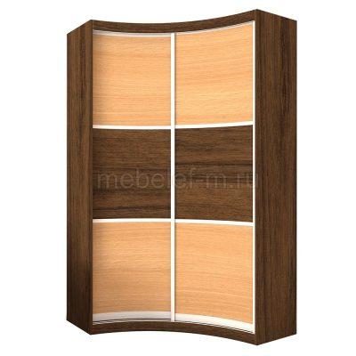 радиусный шкаф купе Мебелеф 8