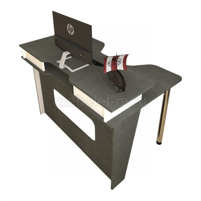 стол для геймера Мебелеф 16