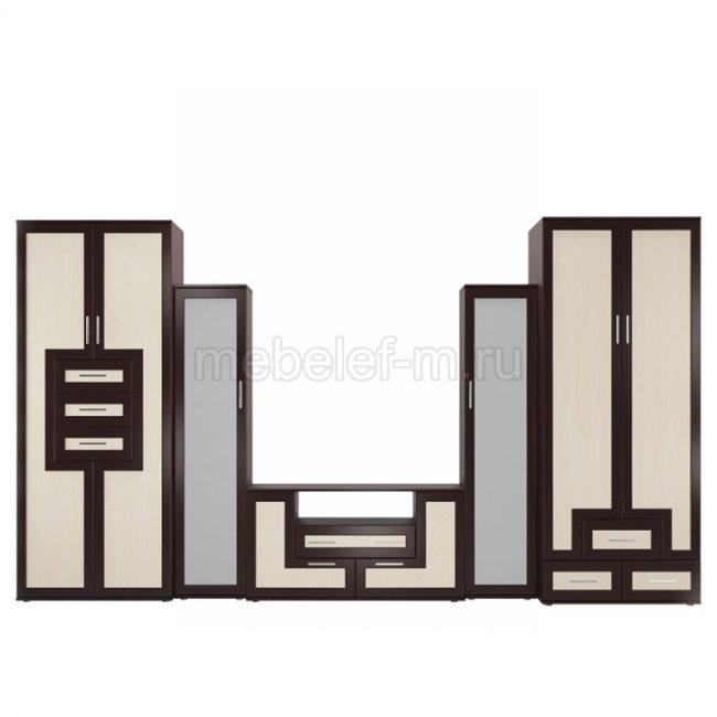Стенка в гостиную Мебелайн 5