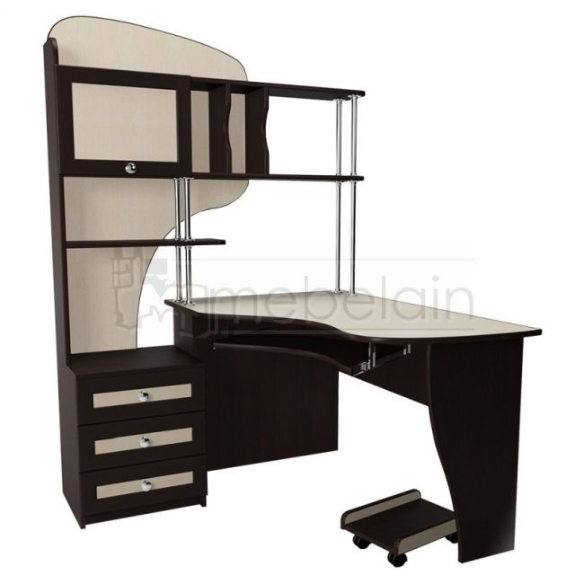 стол для компьютера Мебелайн 15