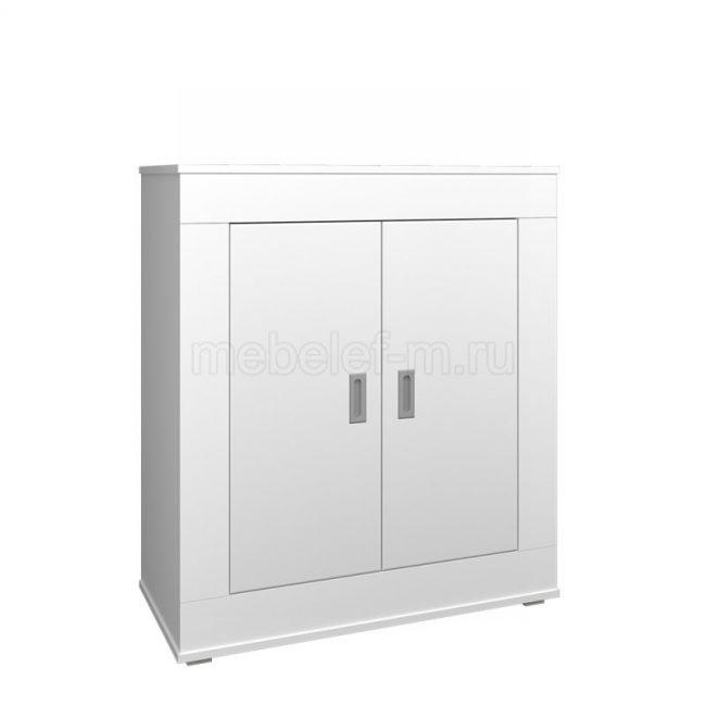 Белый комод Мебелеф 1