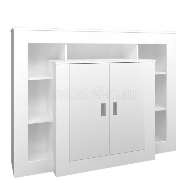 Белый комод Мебелеф 3
