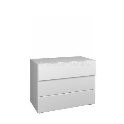 Белый комод Мебелеф 61