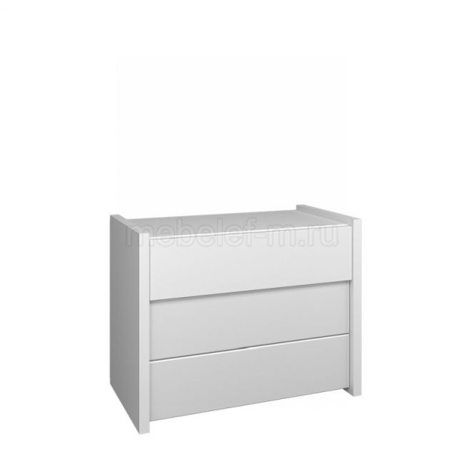 Белый комод Мебелеф 63